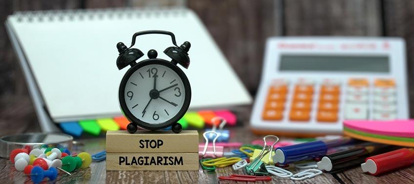Plagiarism Forbidden